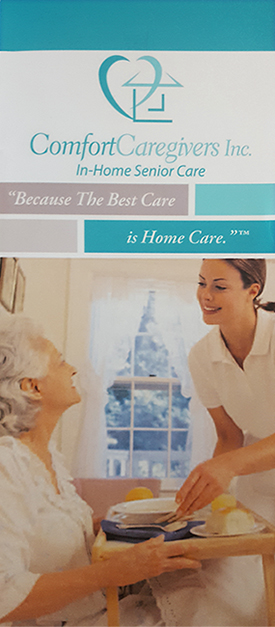 comfort caregivers brochure